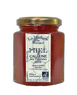 Organic Calluna Honey - Miellerie du Bousquet