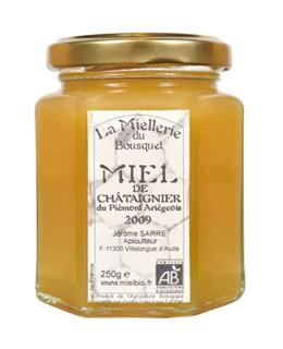 Organic Chestnut honey - Miellerie du Bousquet
