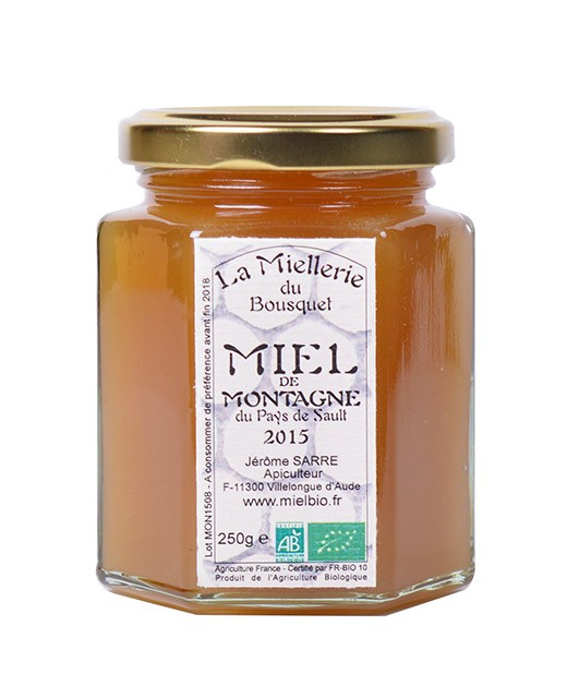Organic Mountain Honey - Miellerie du Bousquet