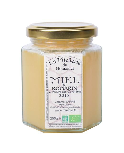 Organic Rosemary honey - Miellerie du Bousquet