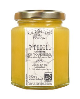 Organic Sunflower honey  - Miellerie du Bousquet