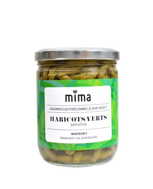 Organic extra-fine green beans - Mima Bio