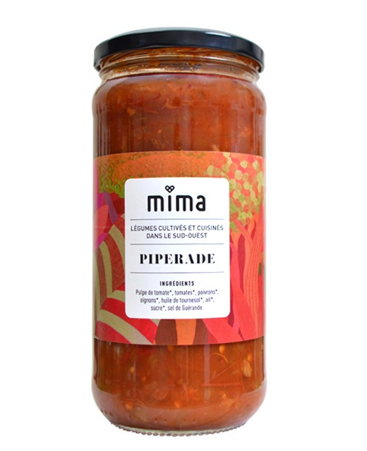 Tomato sauce - Organic piperade - Mima Bio