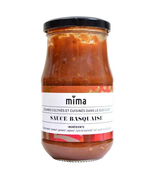 Organic Basque tomato sauce - Mima Bio