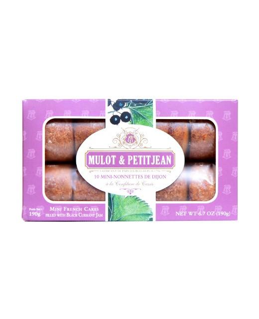 Mini-nonnettes of Dijon - blackcurrant jam - Mulot & Petitjean