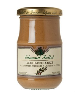 Mild Brown Mustard with Herbs and Spices - Fallot