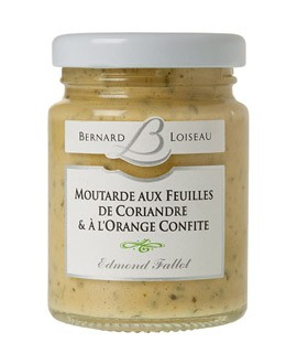 Mustard with Coriander leafs and Orange - Fallot