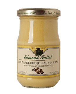 Dijon Mustard with White Wine - Fallot
