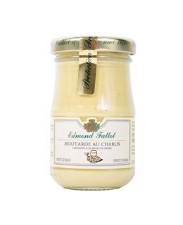 Chablis wine fine Mustard - Fallot