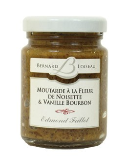 Mustard with hazelnut powder and Bourbon vanilla - Fallot