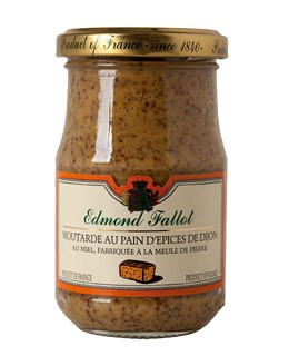 Mustard with Dijon Gingerbread - Fallot