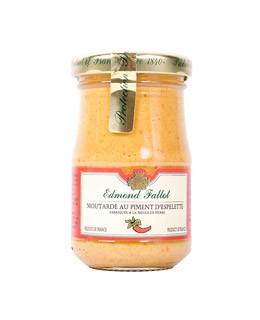 Espelette chili peppers Mustard - Fallot
