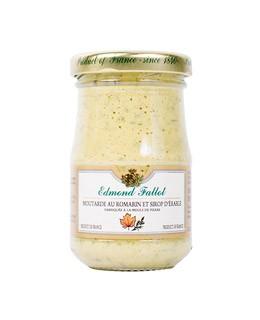 Rosemary and maple syrup Mustard - Fallot