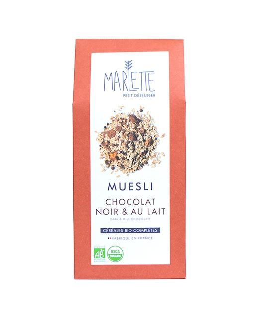 Muesli with dark and milk chocolate - Marlette