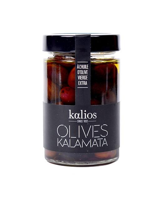 Kalamata olives in extra virgin olive oil - Kalios