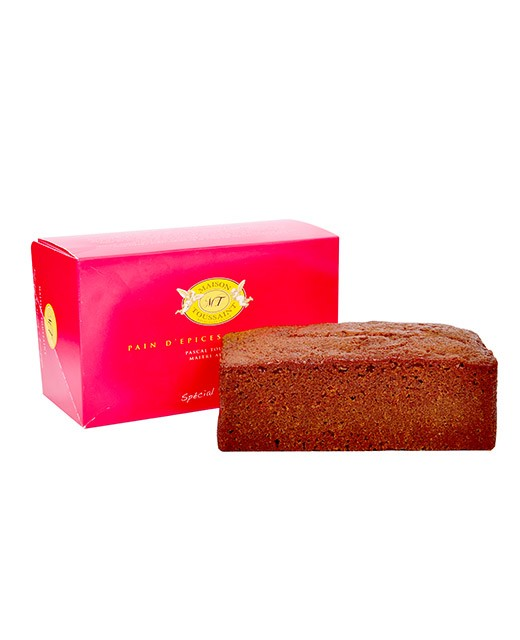 Gingerbread, specially made for toast and Foie Gras - Maison Toussaint