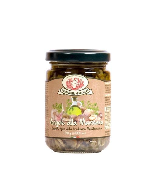 Clams marinated in olive oil - Rustichella d'Abruzzo