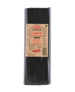 Linguine al Nero di Seppia (Squid Ink) - Rustichella d'Abruzzo