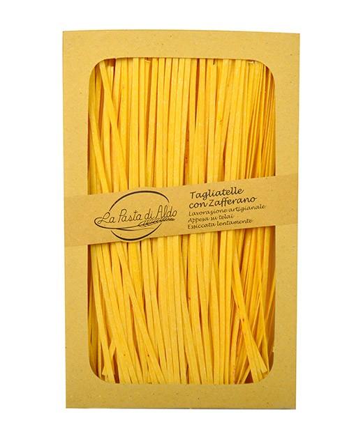 Tagliatelle with saffron - Pasta di Aldo