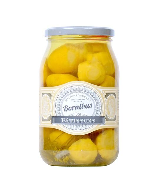 Pattypan squash - Bornibus