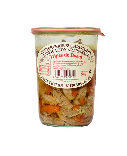 Ready-made meal: beef tripes - Conserverie Saint-Christophe