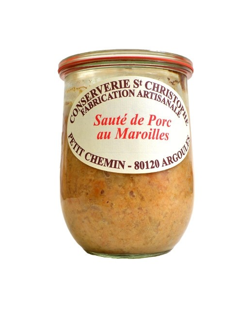 Ready-made meal: Sautéed pork with Maroilles - Conserverie Saint-Christophe
