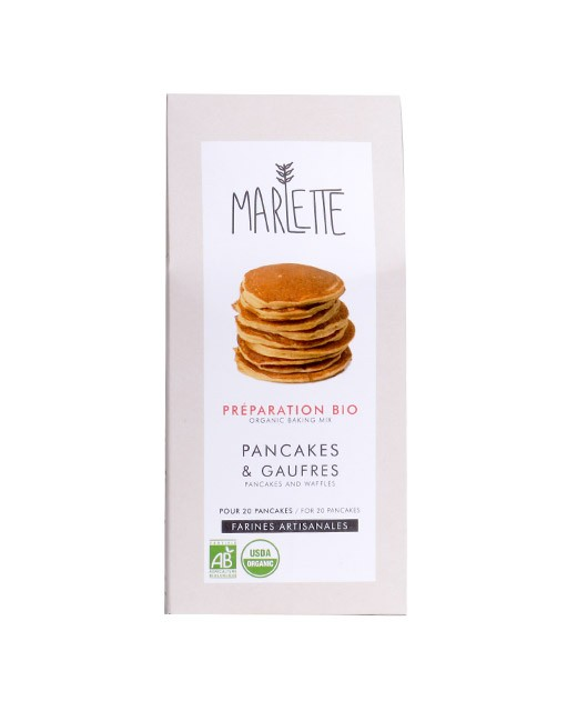 Organic mix for pancakes and waffles - Marlette