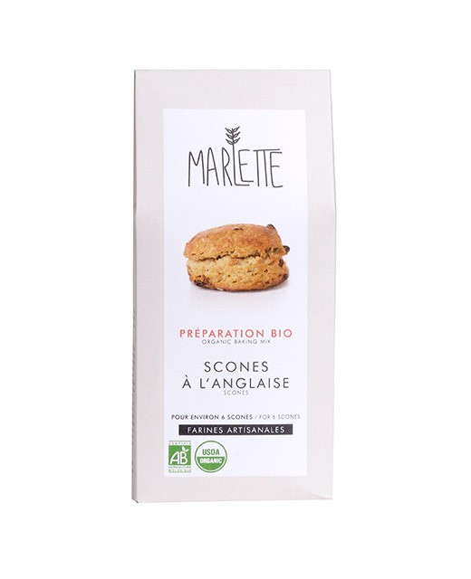 Organic mix for English Scones - Marlette