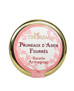 Dried prunes stuffed with Armagnac - Thorem
