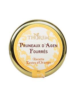 Dried prunes stuffed with orange peels - Thorem