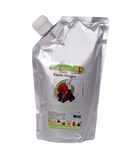 Mixed berries puree (strawberry, rapsberry, morello cherry, blueberry, blackberry) - Capfruit