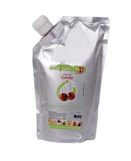 Morello cherry puree - Capfruit