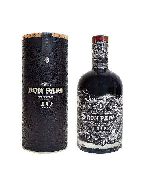Don Papa Rum 10 years old, limited edition - Don Papa