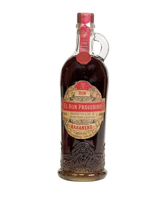 Prohibido Habanero Rum - 12 years old - El Ron Prohibido