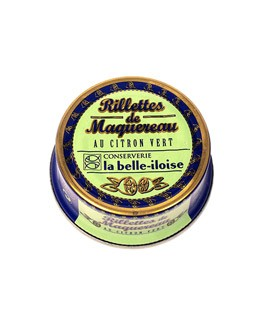 Mackerel and lime rillettes - La Belle-Iloise