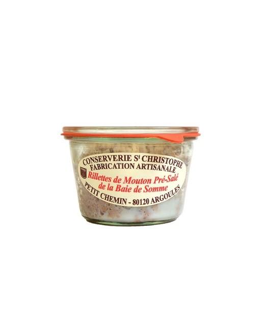 Salted mutton rillettes - Conserverie Saint-Christophe