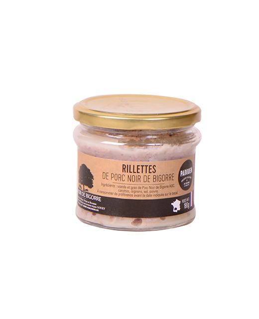Rillettes of Bigorre black pork - Padouen