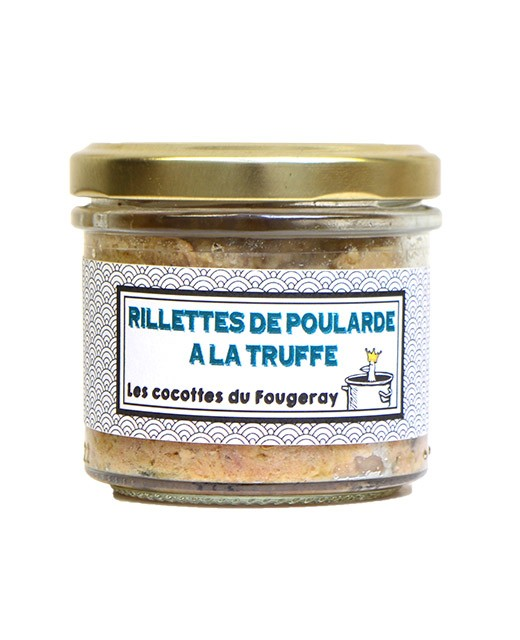 Hen rillette with truffle - Comptoir Fougeray