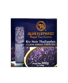 Organic Thai black rice - Blue Elephant