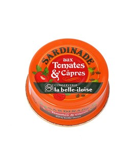 Tomato and caper sardine spread - La Belle-Iloise