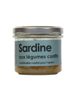 Sardine with vegetable confit - L'Atelier du Cuisinier