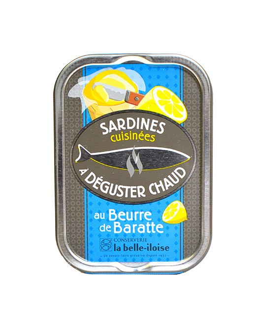 Sardines cooked with churned butter - La Belle-Iloise