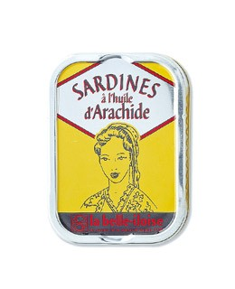 Sardines in groundnut oil - La Belle-Iloise