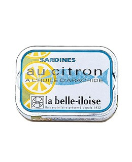 Sardines in groundnut oil and lemon - La Belle-Iloise