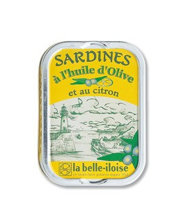Sardines in extra virgin olive oil and lemon - La Belle-Iloise