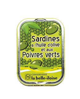 Sardines in extra virgin olive oil and green peppers - La Belle-Iloise