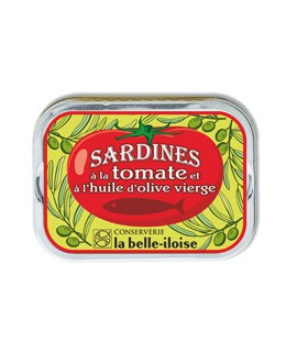 Sardines in extra virgin olive oil and tomato - La Belle-Iloise