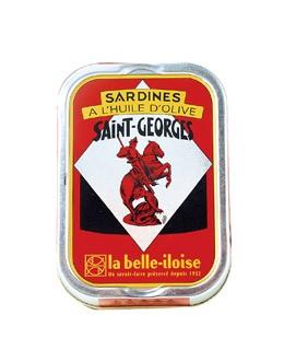 Sardines in Saint Georges extra virgin olive oil - La Belle-Iloise