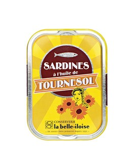 Sardines in sunflower oil - La Belle-Iloise