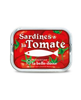 Sardines in sunflower oil and tomato - La Belle-Iloise